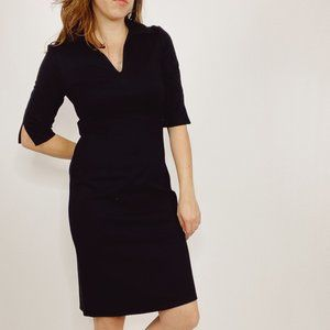 Jude Connally Black Michelle Ponte Dress